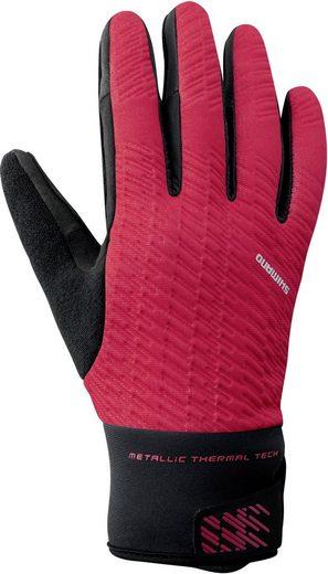 Shimano Handschuhe »Windbreak Reflektierende Thermo Handschuhe Herren«