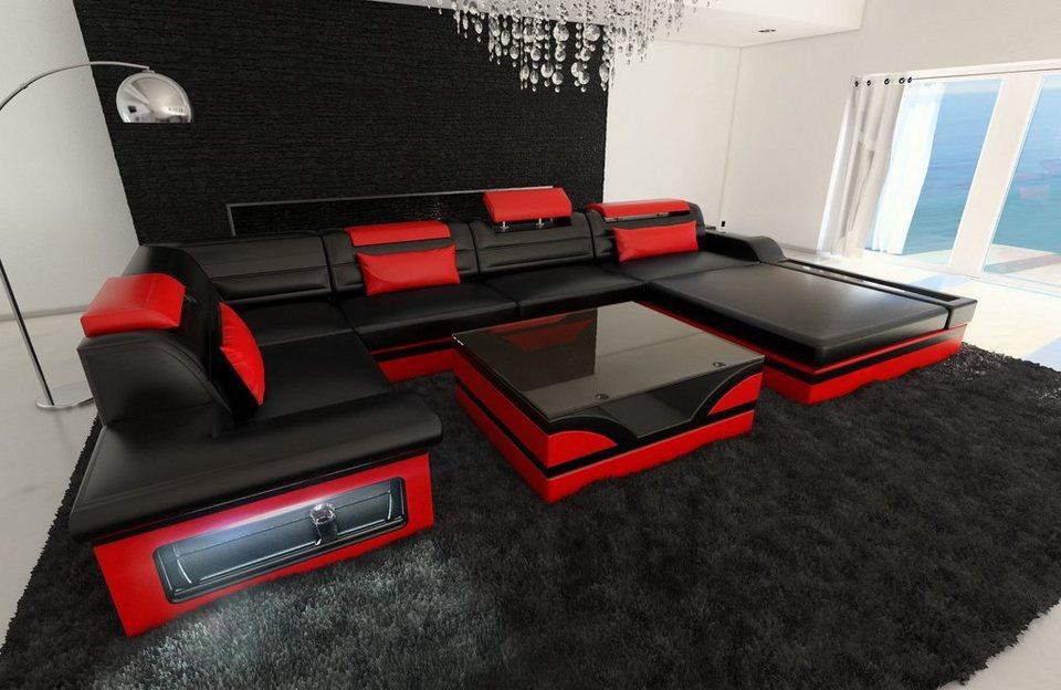 Sofa Dreams Wohnlandschaft »Mezzo«, U Form kaufen   OTTO