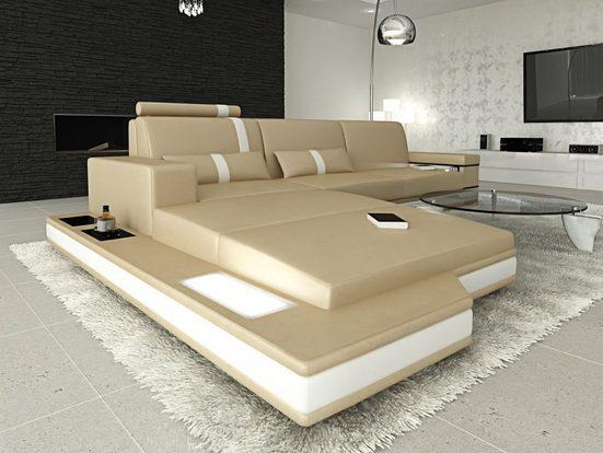 Sofa Dreams Ecksofa »Messana«, L Form