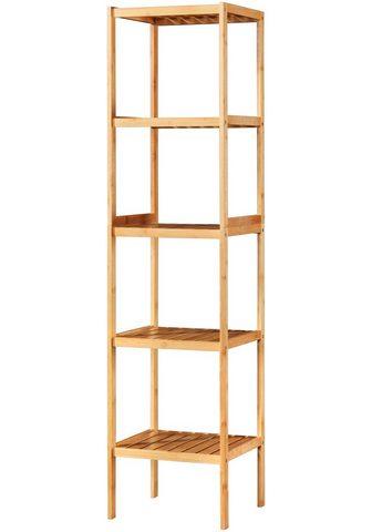 WELLTIME Vonios lentyna »Bambus« 34 cm plotis 5...