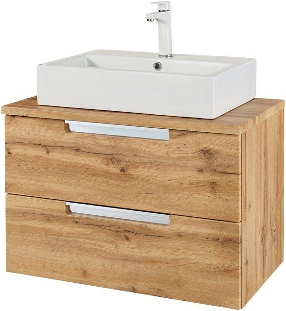 Waschtische - WELLTIME Waschtisch »Malibu«, 80 cm Breite  - Onlineshop OTTO