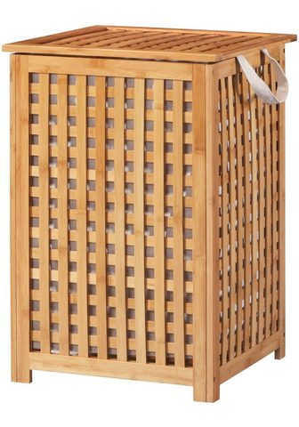WELLTIME Skalbinių krepšys »Bambus« Medžiaginė ...