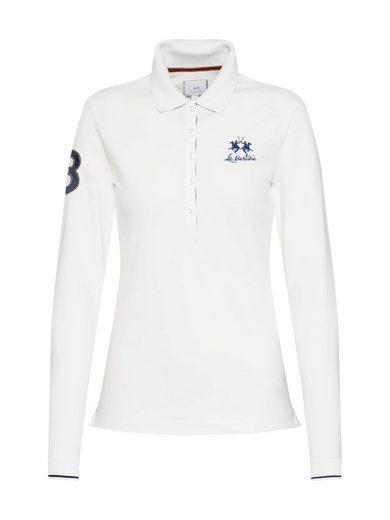 La Martina Langarm-Poloshirt