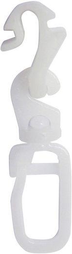 Klick-Gleiter »Click in+out Gleiter«, GARDINIA, Gardinenstangen, Innenlaufsysteme, Gardinenschienen, (20-St)