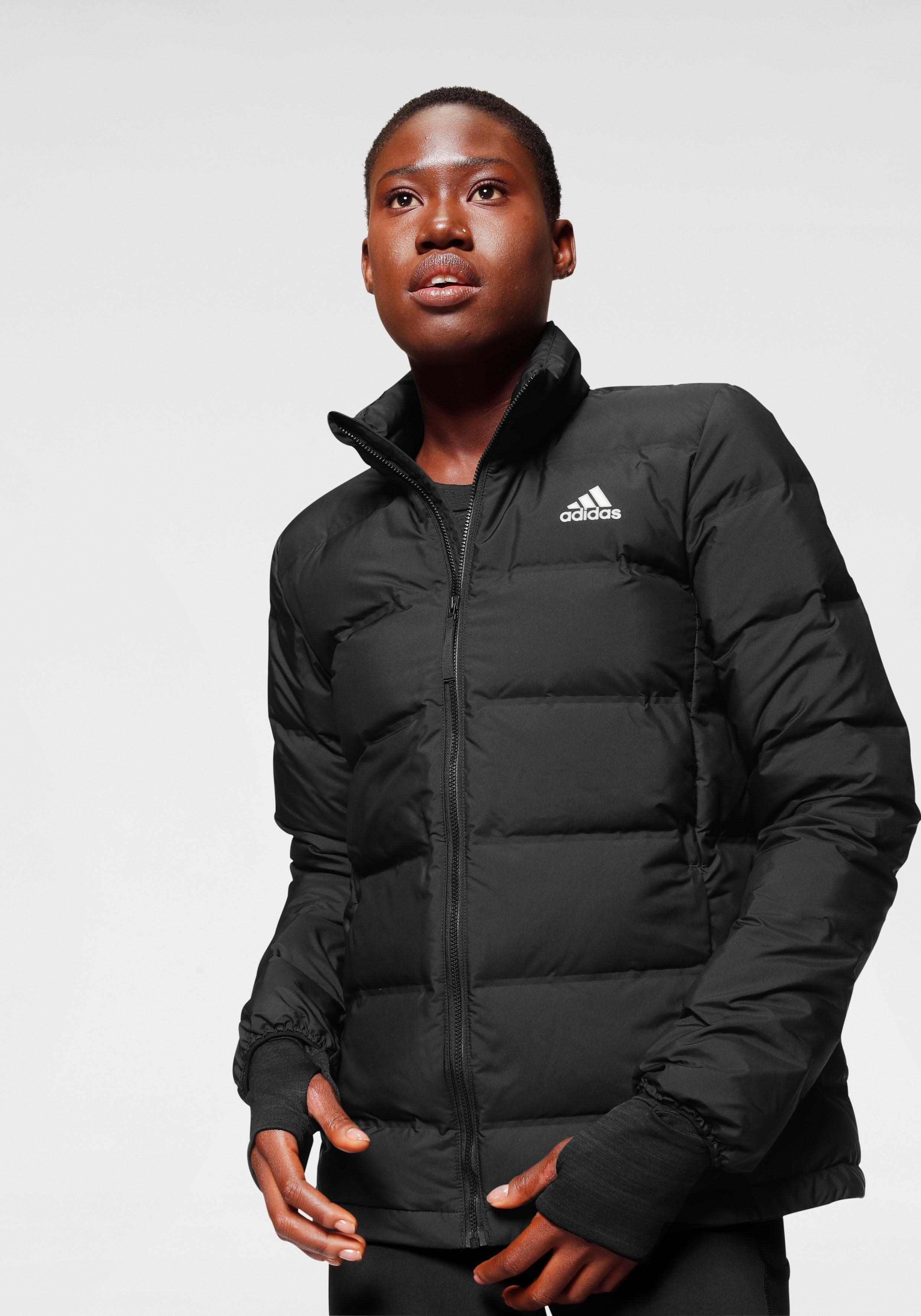Adidas Helionic 3 Streifen Jacke Funktionsjacke Damen