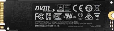 Samsung »970 EVO Plus NVMe™ M.2 2 TB« externe HDD-Festplatte (2 TB) 3500 MB/S Lesegeschwindigkeit, 3300 MB/S Schreibgeschwindigkeit)
