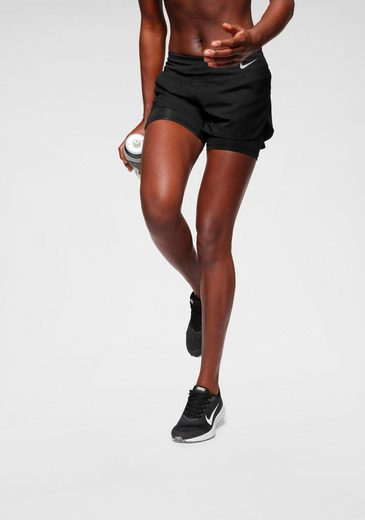 Nike Laufshorts »W NIKE ECLIPSE 2IN1 SHORT«