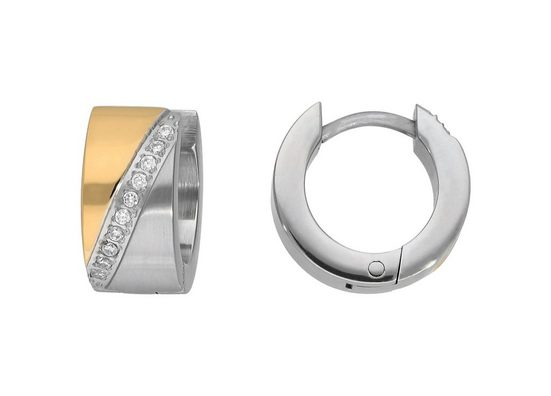 TITANIA Paar Creolen »sparkling elegance«