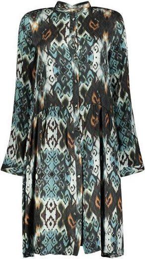 Please Jeans A-Linien-Kleid »AOP« im edlem multicolor Allover-Druck