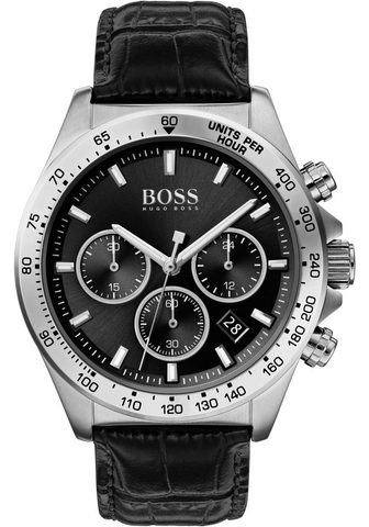 BOSS Chronografas- laikrodis »Hero 1513752«...