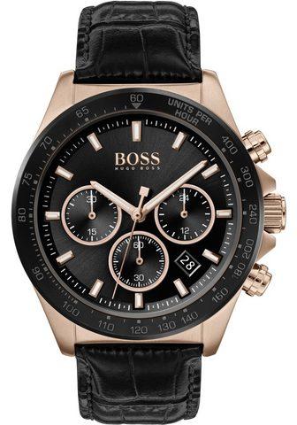 BOSS Chronografas- laikrodis »Hero 1513753«...