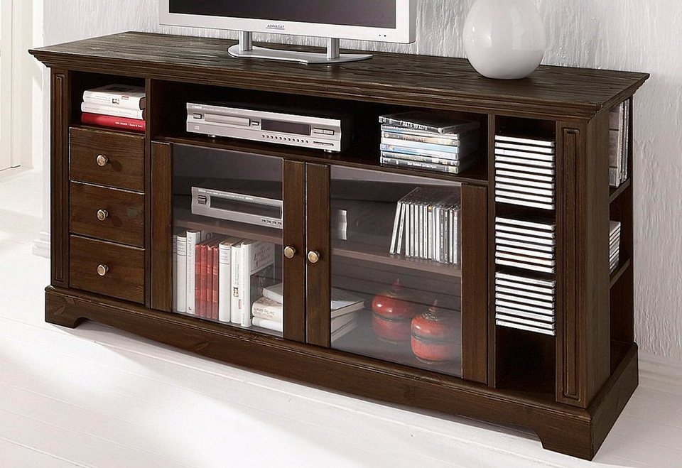 tv tisch home affaire breite 153 cm belastbarkeit bis. Black Bedroom Furniture Sets. Home Design Ideas