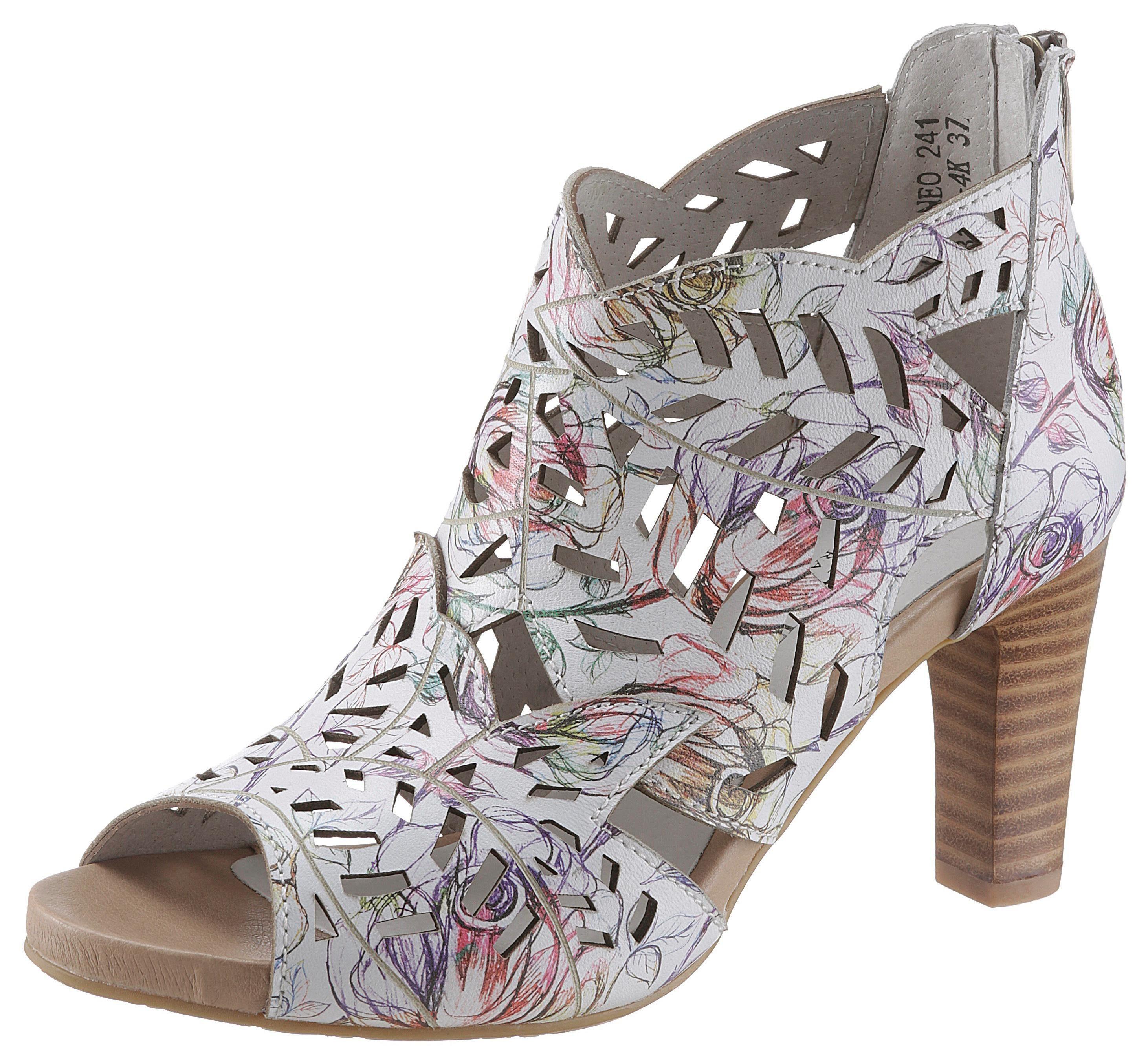 LAURA VITA »Alcbaneo« Sandalette mit zartem Blütenprint online kaufen   OTTO