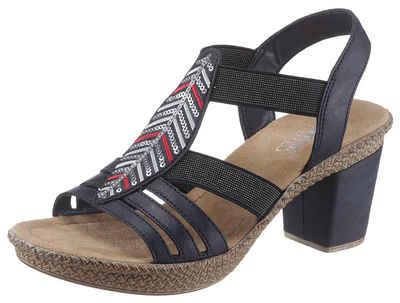 Rieker Sandalette mit Pailletten-Verzierung