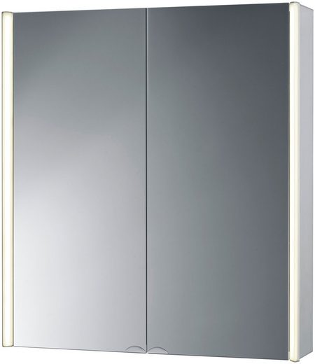 Jokey Spiegelschrank »CantAlu« Breite 67 cm, mit LED-Beleuchtung