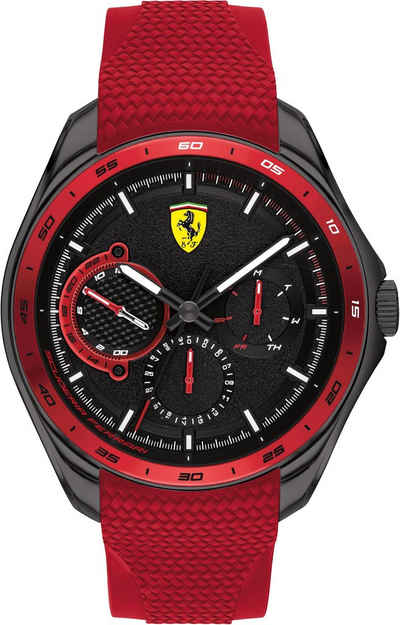 Scuderia Ferrari Multifunktionsuhr »Speedracer, 830681«