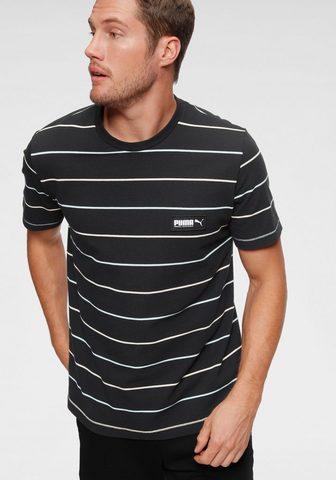 PUMA Marškinėliai »FUSION Striped Tee«