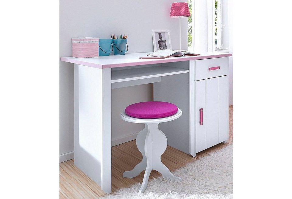Parisot Schreibtisch »Biotiful« in weiß-rosa