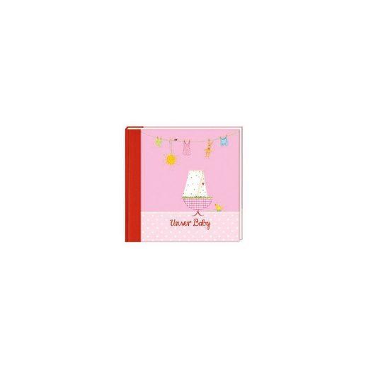 Coppenrath Eintragalbum:Unser Baby, rosa