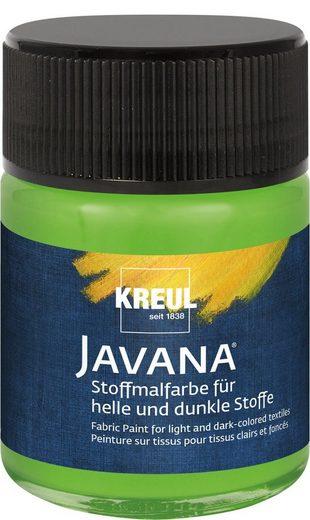 "Kreul KREUL JAVANA Stoffmalfarbe ""für helle & dunkle Stoffe"""