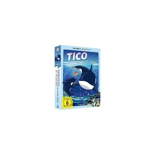 DVD Tico - Ein toller Freund - Vol.2 (Episode 21-39, 4 DVDs)