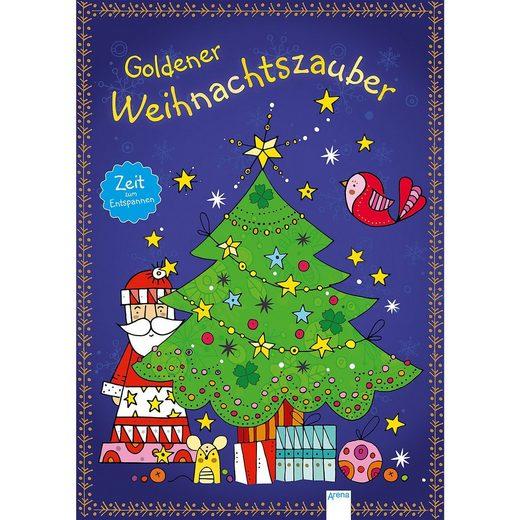 Arena Verlag Zeit zum Entspannen: Goldener Weihnachtszauber