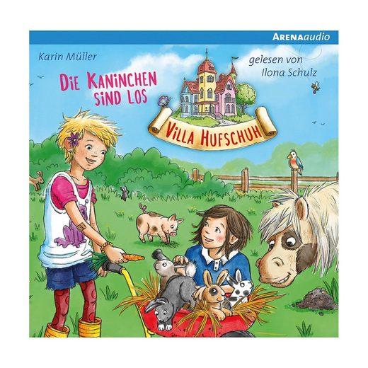 Arena Verlag Villa Hufschuh: Die Kaninchen sind los, 1 Audio-CD