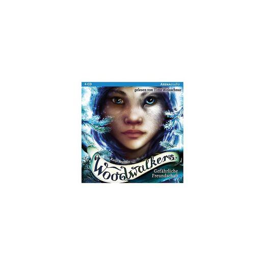 Arena Verlag Woodwalkers: Gefährliche Freundschaft, 1 Audio-CD