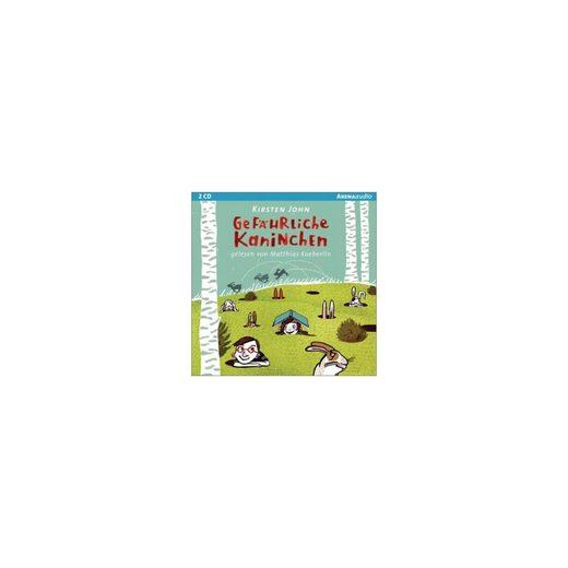 Arena Verlag Gefährliche Kaninchen, 2 Audio-CDs