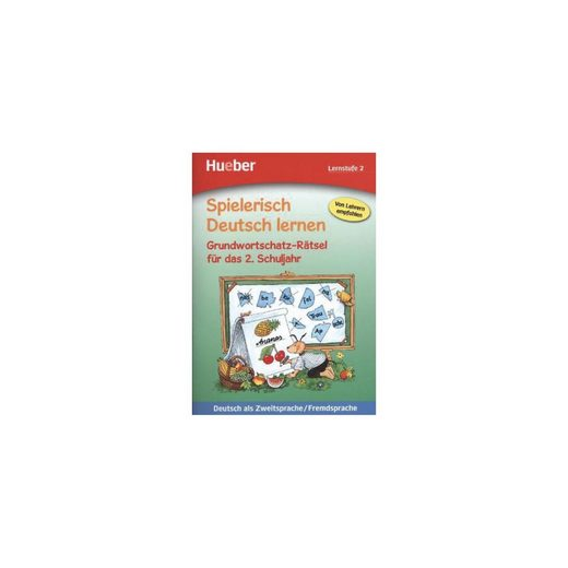 Hueber Verlag Spielerisch Deutsch lernen: Grundwortschatz-Rätsel für das 2