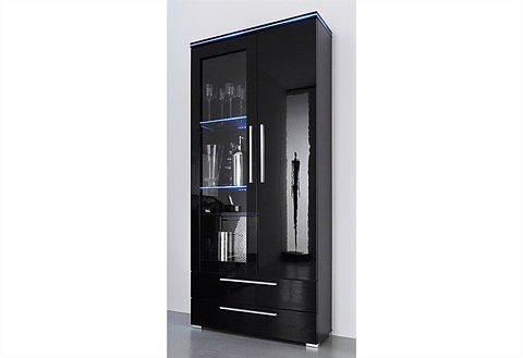 standvitrine h he 170 cm online kaufen otto. Black Bedroom Furniture Sets. Home Design Ideas