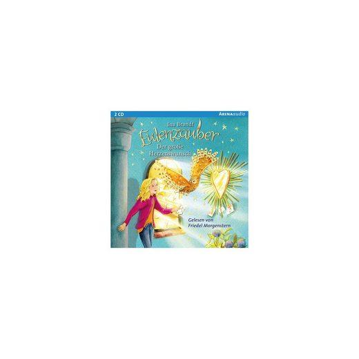 Arena Verlag Eulenzauber: Der große Herzenswunsch, 2 Audio-CDs