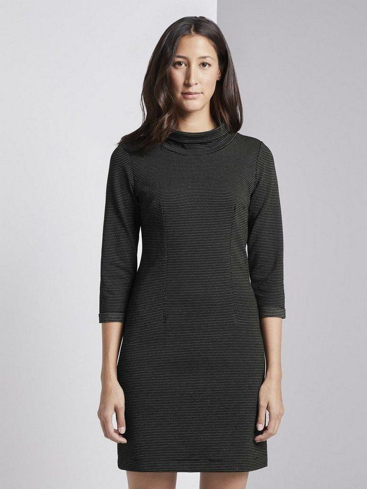 tom tailor strickkleid »kleid« online kaufen | otto