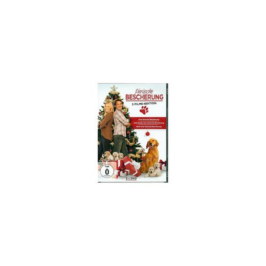 DVD Tierische Bescherung (3 Filme Edition)