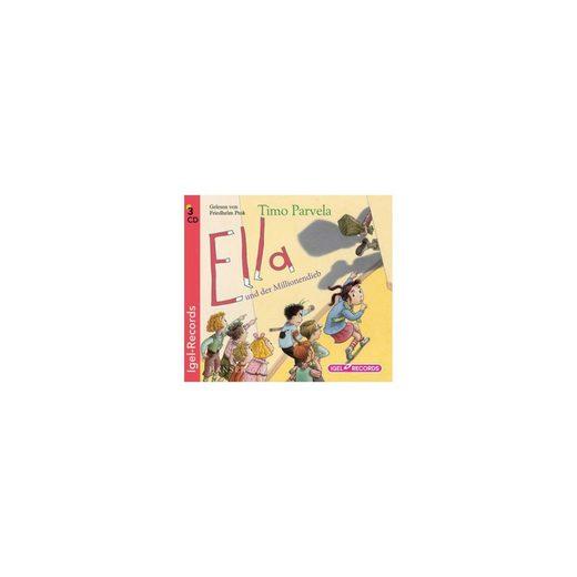 Igel Records Ella und der Millionendieb, 3 Audio-CD