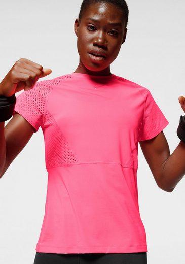 Nike Funktionsshirt »Nike Pro Women's Short-Sleeve Mesh Top« Oberstoff aus Mesh