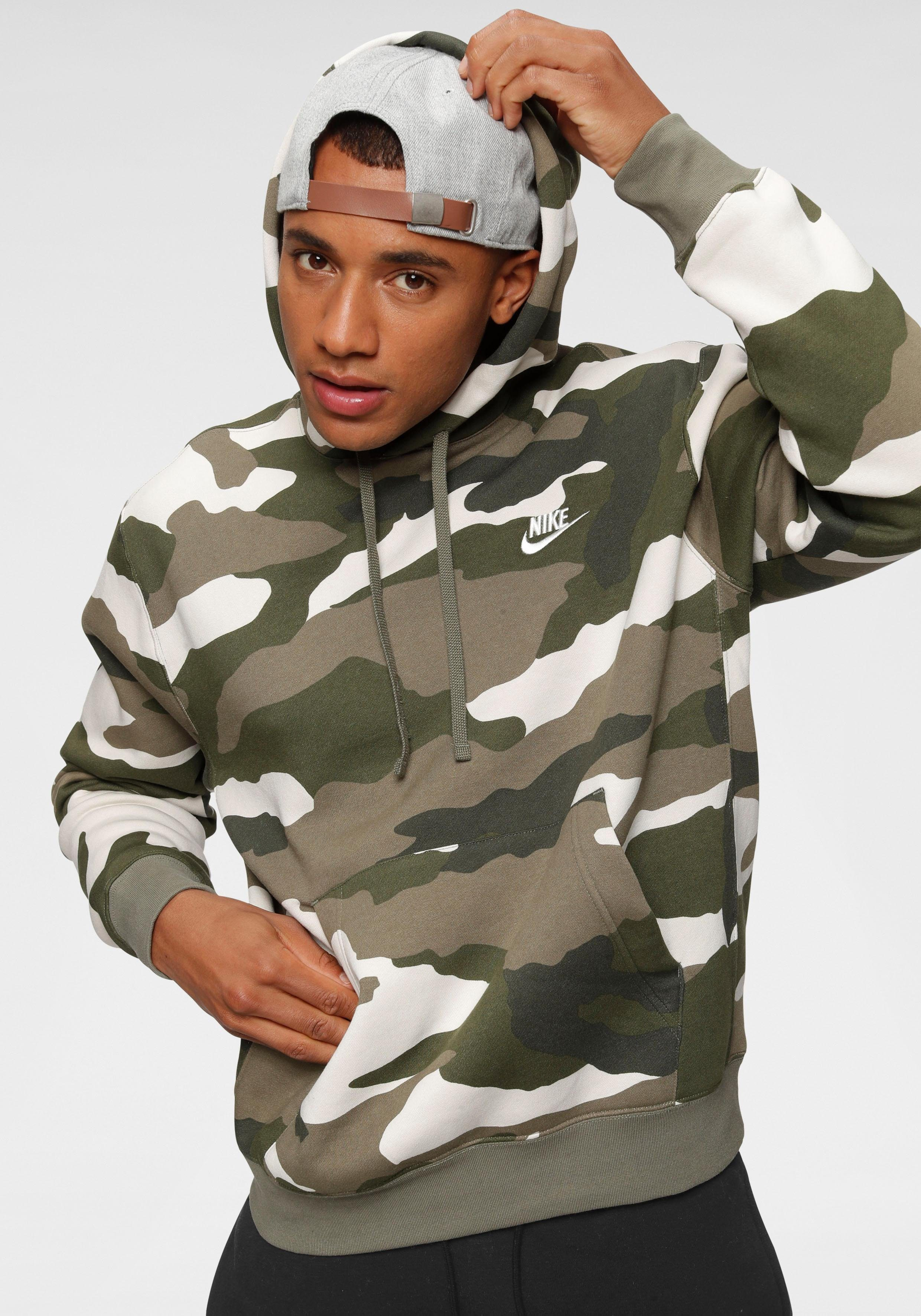 Nike Sportswear Kapuzensweatshirt »Nike Sportswear Club Men's Camo Pullover Hoodie« Allover Camoprint online kaufen   OTTO