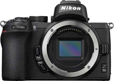 Nikon »Z50 Body« Systemkamera (20,9 MP, Bluetooth, WLAN (Wi-Fi)