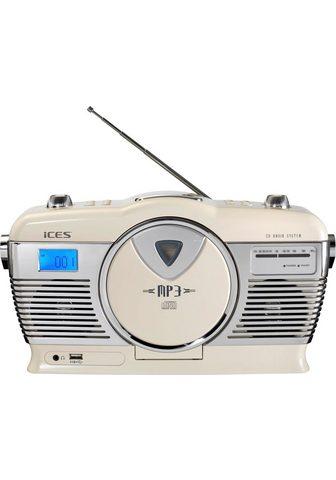 LENCO »ISCD-33« Retro-Radio (FM-Tuner)
