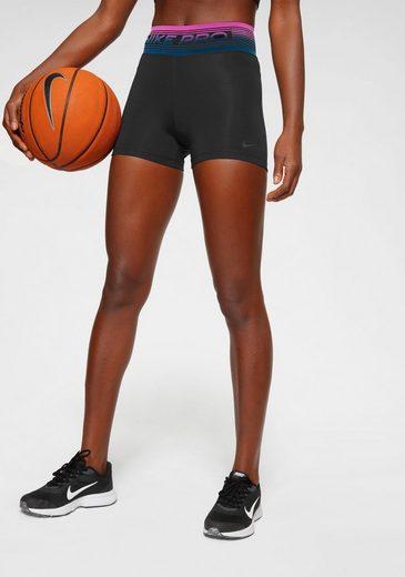 "Nike Trainingsshorts »Nike Pro Women's 3"" Shorts« Farbiger Flockprint am Bund"