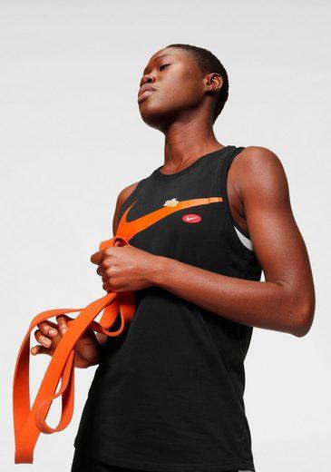 Nike Funktionstop »Nike Dri-FIT Women's Graphic Training Tank« DRI_FIT Technologie