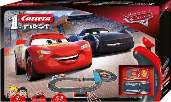 Carrera® Autorennbahn »Carrera® First - Disney/Pixar Cars« (Streckenlänge 2,9 Meter), (Set)