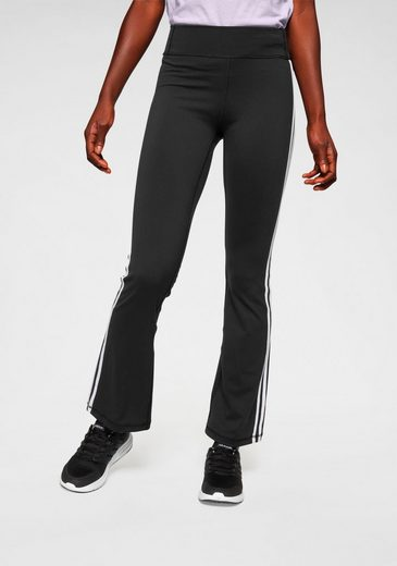 adidas Performance Jazzpants »BRUSHED 3 STRIPES BOOTCUT«