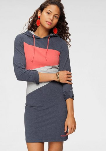KangaROOS Shirtkleid im aktuellen Colorblocking-Design