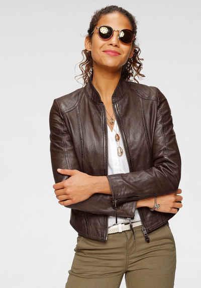Kunstlederjacke Lederjacken für Damen vergleichen und bestellen