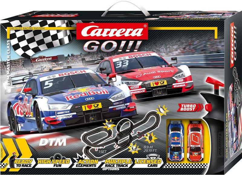 Carrera® Autorennbahn »Carrera® GO!!! - DTM Master Class« (Streckenlänge 8,9 Meter), (Set)