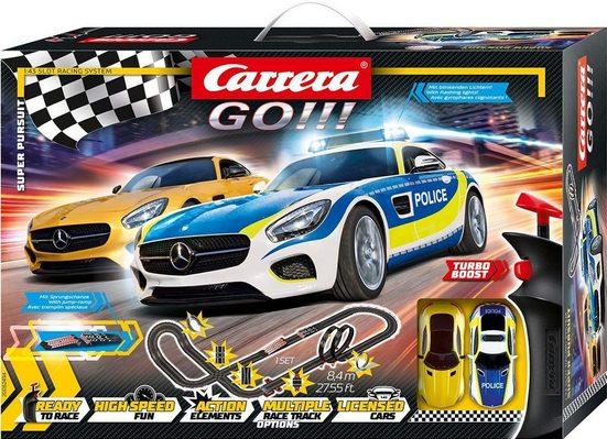 Carrera® Autorennbahn »Carrera® GO!!! - Super Pursuit« (Streckenlänge 8,4 Meter), (Set)