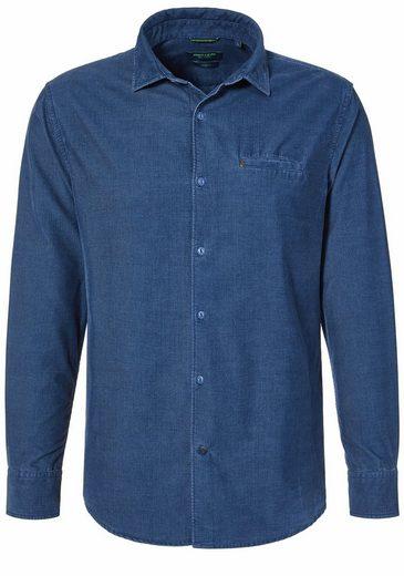 Pierre Cardin Cord-Hemd mit Fade-Out-Effekt »0«