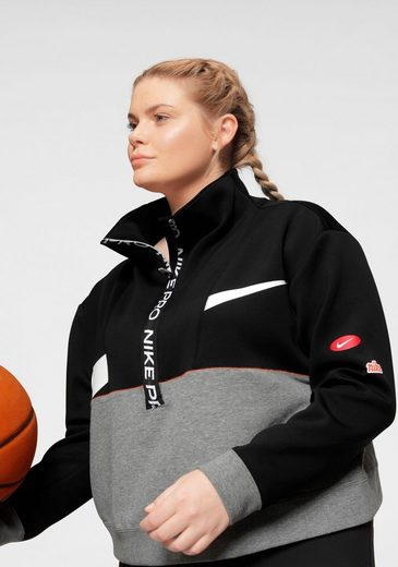 Nike Sweatshirt »WOMEN NIKE DRY PULLOVER PLUS SIZE«