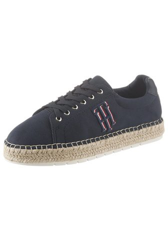 TOMMY HILFIGER Basutės »NAUTICAL TH LACE UP ESPADRILL...